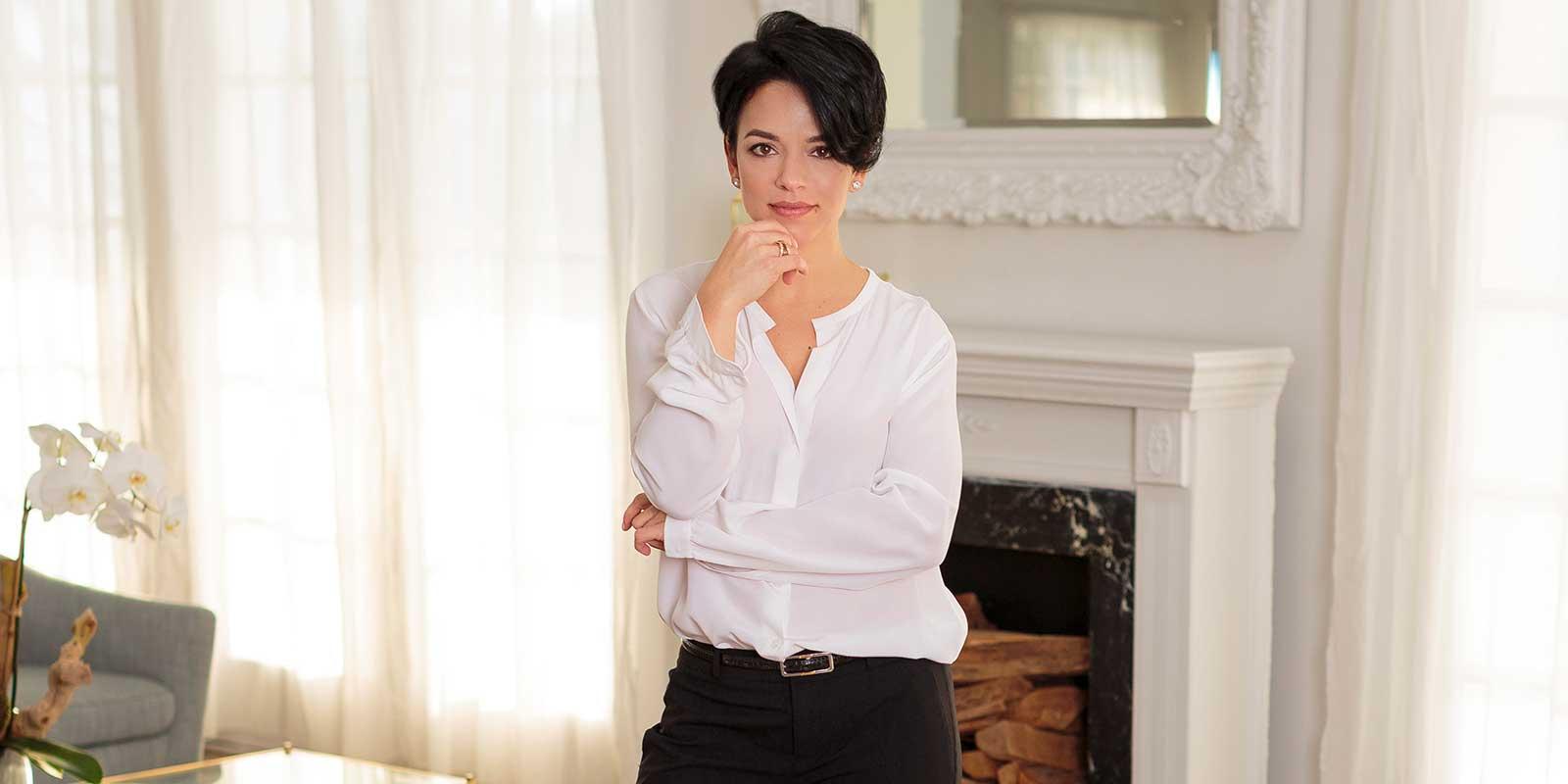 Portrait of Raquel Ramirez